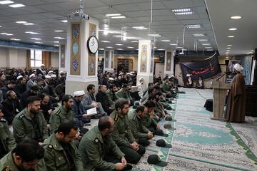 مراسم بزرگداشت شهید سردار سلیمانی در مرکز خدمات قم  برگزار شد