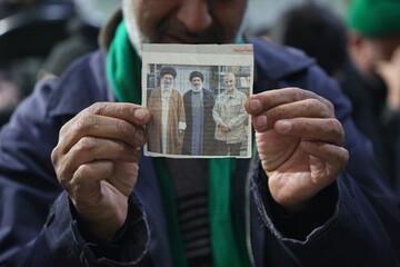 تصاویر/ مراسم بزرگداشت سردار شهید قاسم سلیمانی در مسجد امام حسین(ع) بیرجند