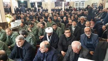تصاویر / مراسم بزرگداشت شهید سلیمانی در شهرستان سراب