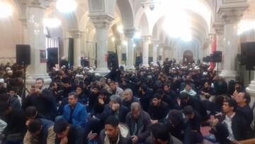 حوزویان تهران در غم فراق سردار شهید اشک ریختند