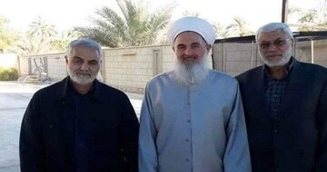شیخ الصمیدعی: شهید سلیمانی دفاع از مسلمانان را بر خود واجب می دانست