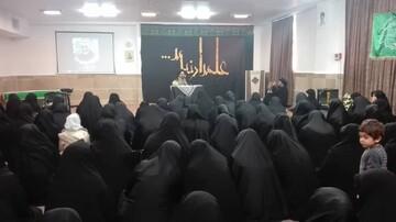 مدرسه خواهران زینبیه آبیک سوگوار شهادت سردار مجاهد