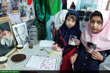 نامه کودکانه دختران مدرسه کوثر اهواز به رهبر انقلاب+عکس