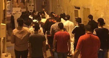 مردم بحرین در اعتراض به ترور سردار سلیمانی و المهندس تظاهرات کردند +تصاویر