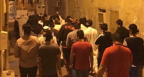 مردم بحرین در اعتراض به ترور سردار سلیمانی و المهندس تظاهرات کردند