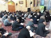 بزرگداشت شهید سلیمانی در مدرسه علمیه ابوذر تهران برگزار شد+ عکس