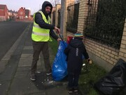 Young Hartlepool mosque members start 2020 with community clean-up