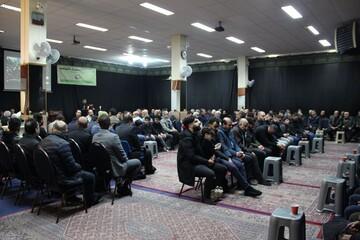 مراسم بزرگداشت شهید سلیمانی و المهندس در هلند+ تصاویر