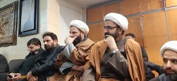 مدیر حوزه علمیه تهران در منزل سپهبد شهید قاسم سلیمانی حضور یافت