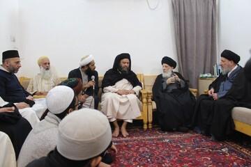آیتالله العظمی حکیم مسلمانان جهان را به وحدت دعوت کردند