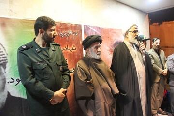 مردم اقبالیه در سوگ سردار سپاه اسلام عزاداری کردند