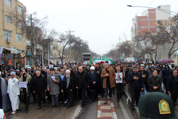 هیئات مذهبی خراسان شمالی در سوگ شهادت حاج قاسم اقامه عزا کردند