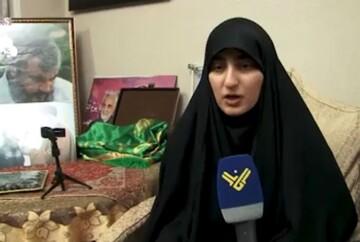 فیلم| دختر حاجقاسم: عمویم سید حسن و مقاومت انتقام پدرم را میگیرند