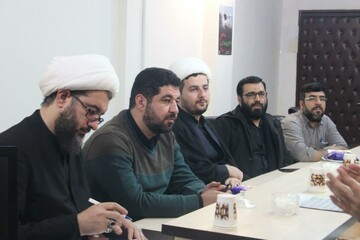 تصاویر/ نشست مدیران حوزه علمیه و کمیته امداد امام خمینی (ره) استان کردستان