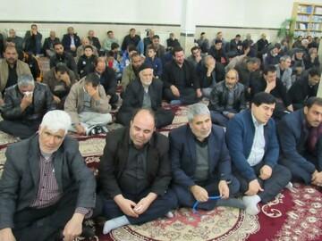 تصاویر/ حضور روحانیون و طلاب بیجاری در مراسم بزرگداشت سردار دلها