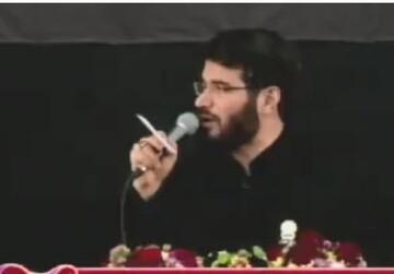 فیلم| مداحی حاج میثم مطیعی در صحن جامع رضوی