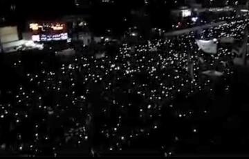 فیلم| صحنه فوق العاده زیبا از نوربارانی تشییع سردار سپهبد حاج قاسم سلیمانی
