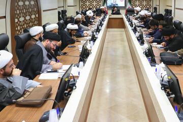 جلسه نهادها، مؤسسات، مراکز و تشکل های بین المللی حوزه برگزار شد