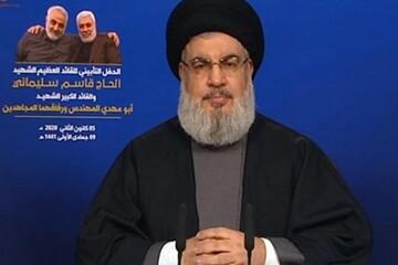 السيد حسن نصر الله يعلن بدء تاريخ جديد للمنطقة بعد إستشهاد سليماني