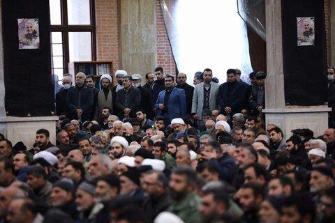 مراسم بزرگداشت سپهبد شهید حاج قاسم سلیمانی در گرگان