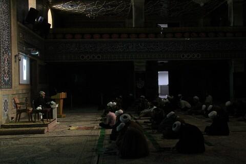 مراسم بزرگداشت سردار شهید حاج قاسم سلیمانی در مدرسه علمیه امام کاظم(ع)