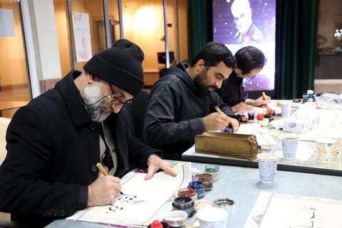 "تصاویر/شب شعر""سردار دلها"""