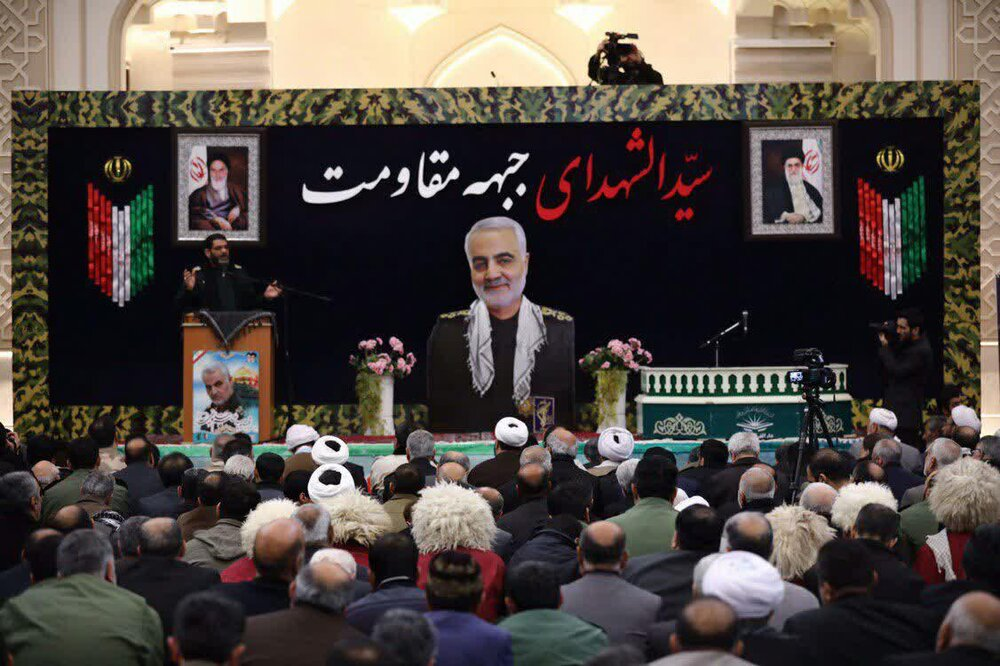 تصاویر/ مراسم بزرگداشت سپهبد شهید حاج قاسم سلیمانی در گرگان