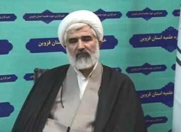 فیلم| مدیر حوزه قزوین: سردار سلیمانی شخصیتی محبوب بود