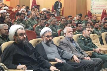 تصاویر/ حضور روحانیون و طلاب کردستانی در مراسم پاسداشت مقام سردار سلیمانی