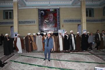 تصاویر / مراسم بزرگداشت سردار شهید قاسم سلیمانی در حوزه علمیه بناب