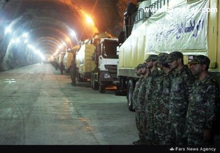 آماده باش موشکی ایران
