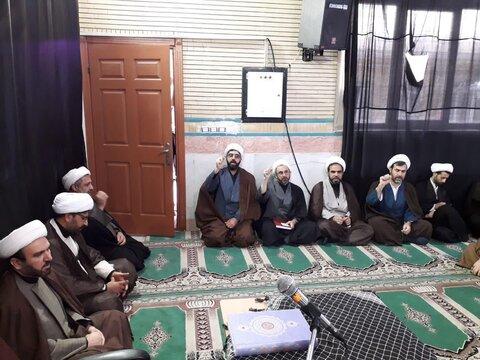 گزارش تصویری/مراسم بزرگداشت شهادت سپهبد حاج قاسم سلیمانی و شهدای مقاومت