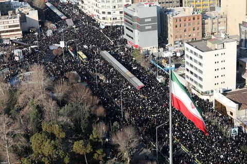 تشییع سردار سلیمانی در تهران