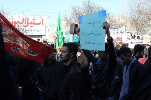 تصاویر/ عزاداری مردم اردبیل در میدان عالی قاپوی