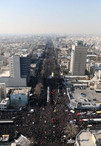 تشییع پیکر حاج قاسم سلیمانی در تهران