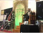 مراسم بزرگداشت سردار سلیمانی در مسجد کبود ایروان برگزار شد