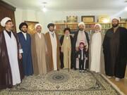 تقدیر سازمان بسیج اساتید اصفهان از پیشکسوت حوزه +تصاویر
