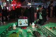 تصاویر/ مراسم شام غریبان سپهبد شهید حاج قاسم سلیمانی توسط مادر شهید زینالدین