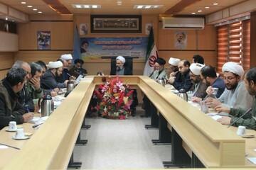 تصاویر/ ستاد ساماندهی شئونات فرهنگی کردستان با حضور حوزویان و طلاب