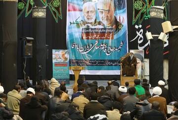 تصاویر/ مراسم بزرگداشت سپهبد حاج قاسم سلیمانی توسط طلاب پاکستانی