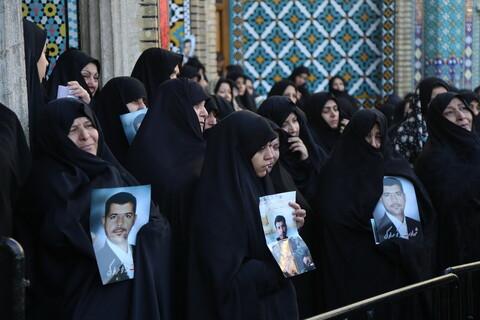 تصاویر / مراسم تدفین پیکر شهید شهروز مظفری نیا