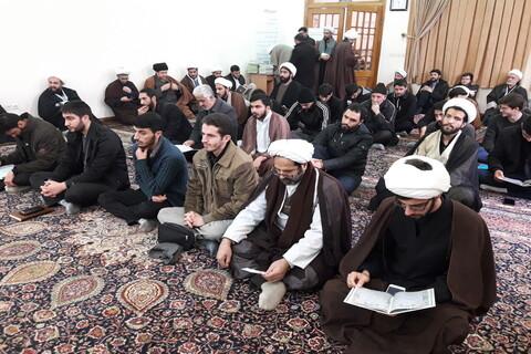 تصاویر / بزرگداشت سردار سلیمانی در مدرسه طالبیه تبریز