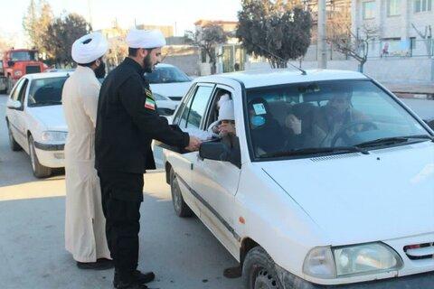 تصاویر/ ایستگاه صلواتی طلاب مدرسه علمیه قروه به مناسبت شهادت سردار سلیمانی