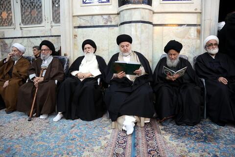 تصاویر/ مراسم ختم مرحوم حجت الاسلام والمسلمین شیخ علی اسلامی