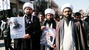 تصاویر/حضور روحانیون هرمزگانی در مراسم تشییع پیکر شهید سردار حاج قاسم سلیمانی