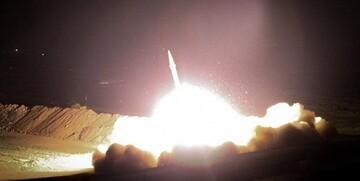 انتقام سخت آغاز شد/ شلیک دهها موشک ایرانی به بزرگترین پایگاه نظامی آمریکا در عراق +تصاویر