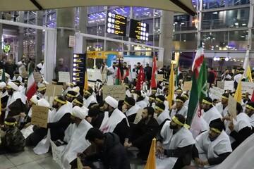 کاروان منتقمون طلاب و دانشجویان از قم به تهران حرکت کردند