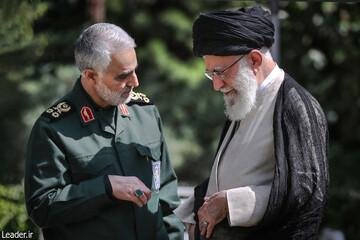 مراسم بزرگداشت شهید سلیمانی و همرزمانش از طرف رهبر انقلاب اسلامی