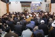 مراسم گرامیداشت شهیدسلیمانی و همرزمانش در دفتر تبلیغات اسلامی برگزار شد