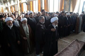 تصاویر/ تشییع پیکر مرحوم حجت الاسلام والمسلمین کیایی نژاد